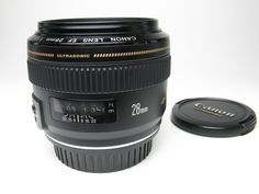 Canon EF 28mm 1.8 Lens