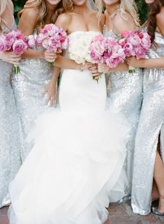 Sparkly goodness: http://www.stylemepretty.com/2015/04/01/romantic-new-orleans-wedding-filled-with-old-world-charm/ | Photography: Megan W - http://www.megan-w.com/