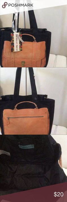 """Black Thursday Friday Tan Proenza PS1 Printed Tote This is a brand new with tag tote bag 8"""" x 10"""" It is so cute! Ever wanted the iconic Proenza Schouler PS1 on your arm? Here is your chance! LOL Bags Mini Bags"""