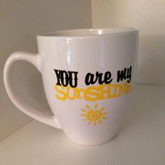 You are my Sunshine #Mug on Etsy.