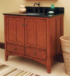 The Expressions bath vanity from Sunny Wood. Find out more at www. Bath Cabinets, Bath Vanities, Pinterest Board, Kitchen And Bath, Liquor Cabinet, Vanity, Storage, Wood, Furniture