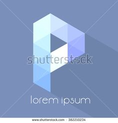 A Letter Logo Icon Mosaic Pattern  - stock vector