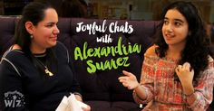 //   I had a chance to sit down with Alexandria Suaréz, a talented 16 year old who is currently starring as Little Gloria Estefan in On Your Feet!The Musical.
