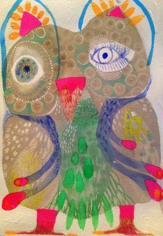 Owl Bird, Bird Art, Subject Of Art, Owl Artwork, Bird Design, Art Plastique, Watercolor And Ink, Pet Portraits, Art Lessons