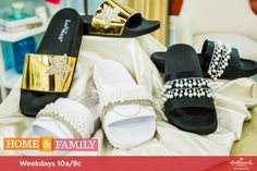 Slide into your Wedding day with simple to make #DIY Wedding Slides by Orly Shani! Tune in to Home & Family weekdays at 10a/9c on Hallmark Channel!