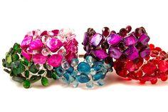 Peace + Love + Bling Vibe Bracelet