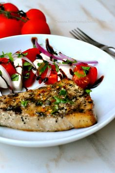 delicious grilled swordfish recipe via www.firsthomelovelife.com