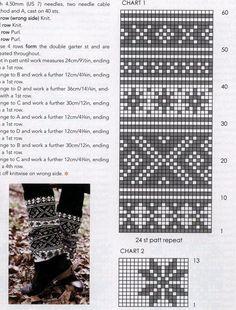56 Super Ideas For Knitting Socks Cat Boot Cuffs Fair Isle Knitting Patterns, Fair Isle Pattern, Knitting Charts, Knitting Socks, Free Knitting, Fair Isle Chart, Cross Stitch Baby, Tapestry Crochet, Crochet Chart