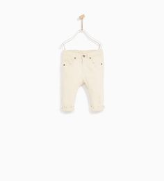 RIPPED SERGE TROUSERS-NEW IN-BABY BOY | 3 months - 4 years-KIDS | ZARA United States