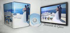Vue global du DVD, boitier et menu du DVD