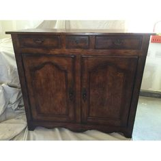 Image Of Vintage Henredon Buffet Cabinet