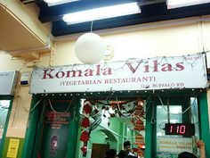 #SG  #Singapore  #travel  Komala Vilas Vegetarian Restaurant.  12 Buffalo Road.   Contact: 62933664.   Opening Hours: Daily 7am-10.30pm