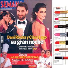 ¡¡¡Un San Valentín de lo más sensual con nuestros labiales de #IliaBeauty en la revista Semana!!!  #beauty #IkonsGallery #Love #SanValentin