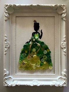 Princess and the Frog button art