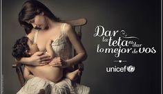 http://www.telenovelasyestrellas.com/2013/07/natalia-oreiro-unicef.html Natalia Oreiro en la campaña de UNICEF por lactancia prolongada
