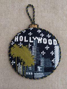 Hollywood Ornament ~ Canvas by Kirk & Bradley