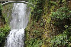 Beautiful Multnomah Falls by Artist/Photographer Larissa Bjurlin of LKB Art & Photography