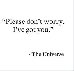 Listen to the universe!
