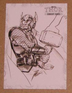 Thor Movie (UDC 2011) Concept Series Card C3 EX