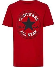 bfc210e5 Boys red Converse logo T-shirt - T-shirts - T-Shirts & Tanks - boys
