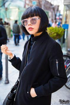 Harajuku Girls in Bobs & Minimalist Fashion by Mikio Sakabe, Balmung & Tokyo Bopper
