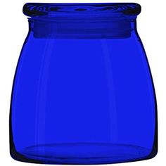 Libbey 71366 Vibe Glass Storage Jars - Full Color Cobalt Blue - Additional Vibrant Colors Available by TableTop King Im Blue, Love Blue, Blue And White, Color Blue, Glass Storage Jars, Jar Storage, Cobalt Glass, Cobalt Blue, Pottery Bowls