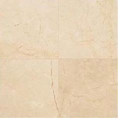 daltile crema marfil  | Daltile Marble Tile12 In. X 12 In. Crema Marfil Marble Floor And Wall ...