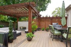 The pergola kits are the easiest and quickest way to build a garden pergola. There are lots of do it yourself pergola kits available to you so that anyone could easily put them together to construct a new structure at their backyard. Diy Pergola, Pergola Ideas For Patio, Building A Pergola, Wood Pergola, Pergola Canopy, Deck With Pergola, Outdoor Pergola, Pergola Shade, Pergola Kits
