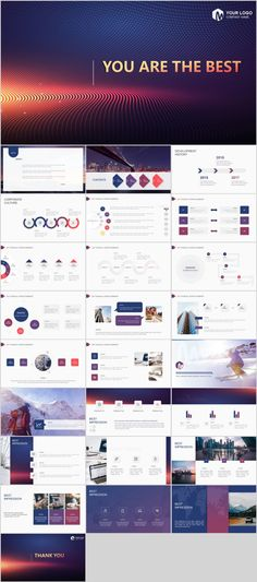 Business infographic & data visualisation Best business annual Design PowerPoint templates on Behance Infographic Description Design Powerpoint Templates, Professional Powerpoint Templates, Keynote Template, Powerpoint Free, Graphisches Design, Slide Design, Tool Design, Vector Design, Presentation Design