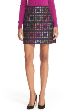 Ted Baker London 'Horticultural Check' Mini Skirt available at #Nordstrom
