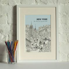 Personalised New York Digital Print