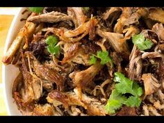 The best Pork Carnitas recipe, that elusive combination of incredible juicy flavour AND golden crispiness. Make this in the slow cooker (crock pot), pressure cooker, instant pot or oven!