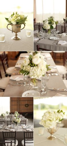 This is exactly what I want. BB and J Silver and Grey Linens - White and Green Flowers. Done and Done.