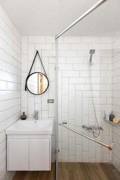 Salle de douches optimisée