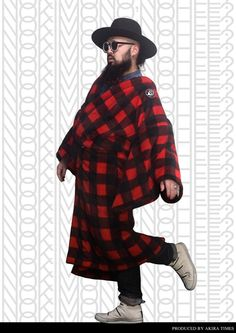Warm inspiration, what appears to be a fleece kimono by Yukiko Tanaka worn by Akira! ~ 【 冬のボアフリース着物はじめました 】 : 劇団美意識 AKiRa times = 【 KIMONO TIMES JAPAN - 12】 MODEL : AKIRA KIMONO : KIMONO PONCHO OBI : MASAE PHOTOGRAPHER : NATSUMI STYLIST / EDITOR : AKIRA TIMES DIRECTION : KIMONO TIMES