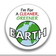 I'm for a cleaner greener earth by mysticdragonss on Etsy, $1.50