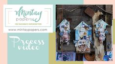 """#50   Fun, mixed media houses with """"Harmony"""" collection   Bipasha Paper Manufacturers, Mixed Media, Houses, Scrapbook, Crafty, Make It Yourself, Youtube, Projects, Fun"""