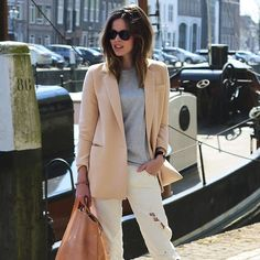french summer street fashion - Google Search