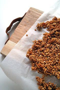 Healthy granola met speculaas