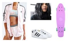 """Untitled #255"" by sshedenah ❤ liked on Polyvore featuring adidas"