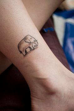 elephant tattoo | Tumblr