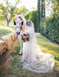 Beautiful Midsummers Nights Dream inspired gypsy wedding