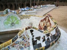 Atelier Mosaique: Gaudi mosaic in Parc Guell
