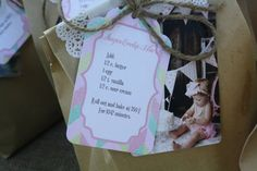 Sugar Cookie Mix with recipe - super-cute #partyfavor