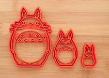 O Totoro, Chu Totoro, Chibi Totoro. Cookies, anime cookie cutter