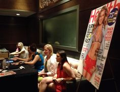 The editors of Health Magazine at TweetSuite #BlogHer12