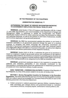 BREAKING: Government workers to receive worth of Service Recognition Inc. BREAKING: Government workers to receive worth of Service Recognition Incentive – GABOTAF Gifts: Christmas is com. President Of The Philippines, Application Cover Letter, Planner Tabs, World Literature, Latin Words, Preschool Learning Activities, Cool Websites, Helping Others
