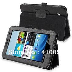 $7.99 (Buy here: http://appdeal.ru/6spk ) Folio PU Leather Case Cover Stand For Samsung Galaxy Tab 2 7.0 smart case WiFi 3G gt-P3100 gt-P3110 book case+stylus pen for just $7.99