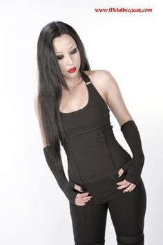 3c922607101 D-Ring Halter Top by MetalbecGear on Etsy My Unique Style