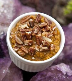 YUM! Recipe for Sweet Potato Mash with Pecans- Plus it can be made in your slow cooker! #skinnyms #cleaneating #slowcooker #recipes Slow Cooker Sweet Potatoes, Mashed Sweet Potatoes, Sweet Potato Casserole, Sweet Potato Recipes, Crock Pot Cooking, Crock Pot Slow Cooker, Slow Cooker Recipes, Cooking Tips, Crockpot Recipes